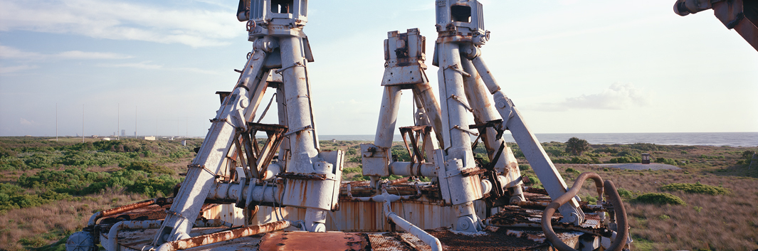 Rocket Thrust Mounts, Gemini Titan Complex 19, Cape Canaveral Ai